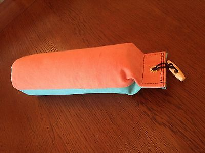 Gun dog training dummy (1lb Dog dummy 2 colour)