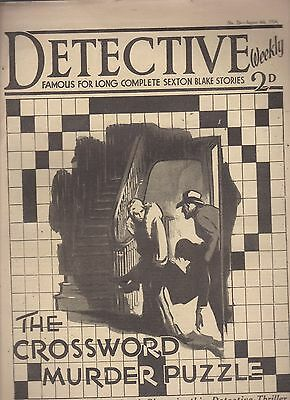 Detective Weekly No.76 August 4th 1934