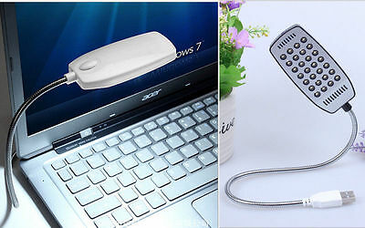 New Flexible Bright Mini BA 28 LED USB Light Computer UU Lamp for Notebook PC