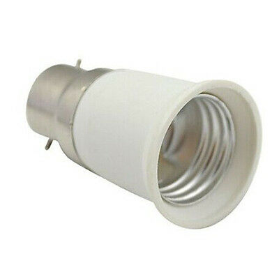 SS Pack of 5 Bulb Base Socket Converter Adaptor (B22 to E27)