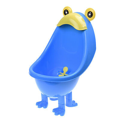 SS Baby Boys Urinal Potty Traing Stand Vertical Urinal Groove with Funny Aiming