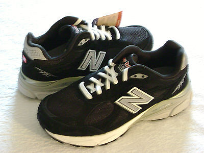 New Balance 990v3 Running Shoes, Womens Size 6.5 Wide, Black