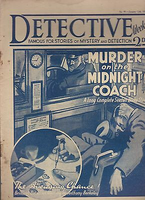 Detective Weekly No.99 January 12th 1935