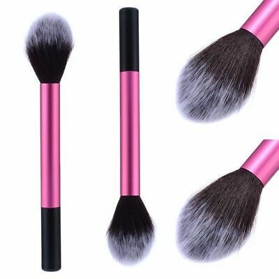 Flawless Beauty Face Powder Blush Flame Brush Foundation Makeup Tool Cosmetics