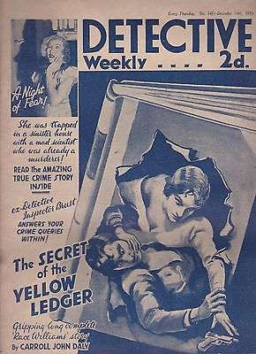 Detective Weekly No.147 December 14th 1935