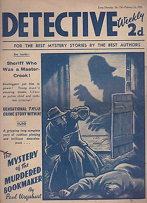 Detective Weekly No.154 February 1st 1936