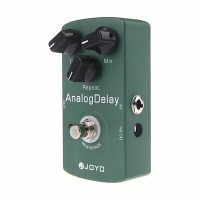 Joyo JF-33 Analog Delay Electric Guitar Effect Pedal True Bypass