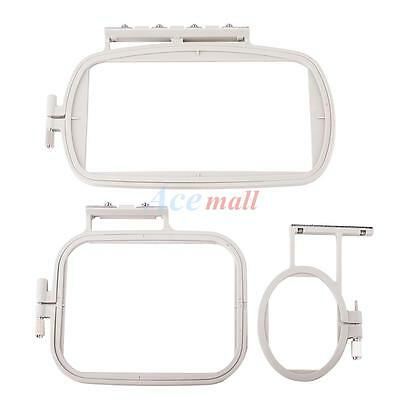 3 Embroidery machine hoop set sewing hoop frame for Brother SE400 PE500 LB6800