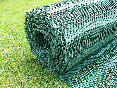 Grass Reinforcement Mesh Protection 2x20M Small Car Driveway Parking Lawn Mat