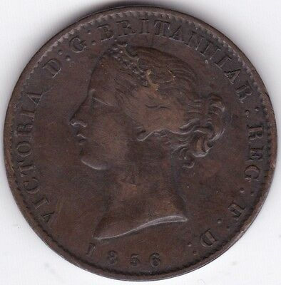 1856 Canada Nova Scotia Half-Penny Token***Collectors***Copper***