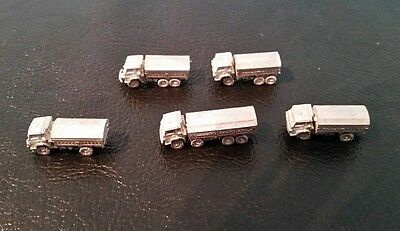 Brand NEWLY RELEASED modern Russia KamAZ 4350 5350 & 6350 trucks 1/285 1/300 6mm
