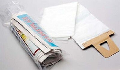 LOT OF 300 -SEE THRU CLEAR plastic bags NEWSPAPERS-DOGGIE doo- ADVERTISING 7x20