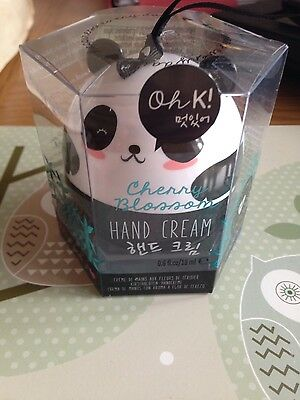 Oh K! Cherry Blossom Hand Cream in Panda Shaped Container