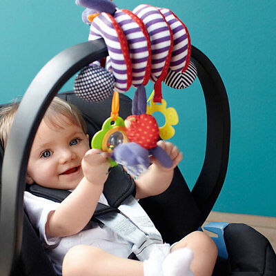 Cute Infant Baby Play Activity Spiral Bed & Stroller Toys Set Hanging Toys UK