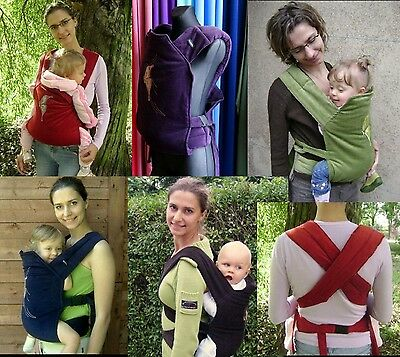 Buckled Mei-Tai Baby Carrier 100% Cotton Corduroy Velvet Back And Front Wearing