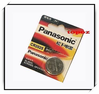 New Panasonic Button Cells CR2025 Lithium Battery Batteries