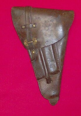 Holster leather - military