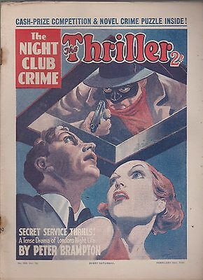 The Thriller No.315 Vol.12 Peter Brampton novel
