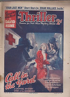 The Thriller No.317 Vol.12 David Hume novel