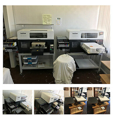 Direct To Garment Brothers GT381 Plus 2 Heat Press