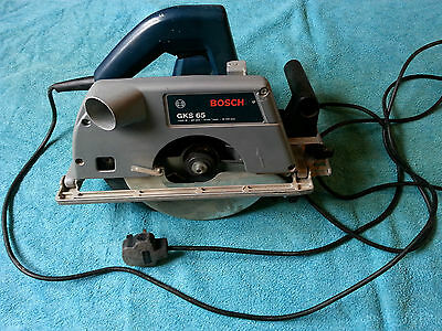 Bosch, GKS 65,  Circular Saw,  240v, 1200W, good used working condition