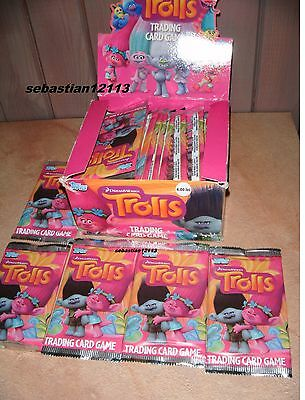 Topps Trading Card Game TROLLS 60x new sachet - 300 cards