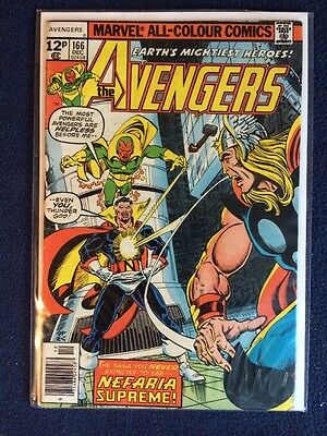 The Avengers # 166 1977 VF Marvel Comics