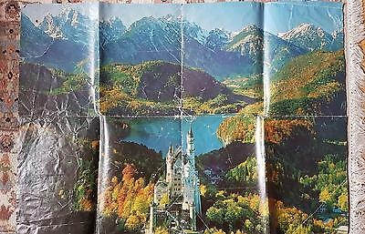 Ravensburger 12000 piece puzzle - The Royal Castles Neuschwanstein - 1985 - Rare