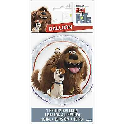 The Secret Life of Pets 18 Inch Foil Balloon