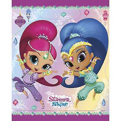 Shimmer and Shine Party Loot Bags [8 per Pack]