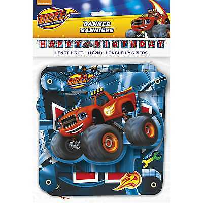 Blaze and the Monster Machines Jointed Birthday Banner