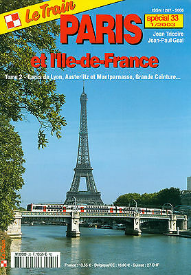 Revue le Train Paris et Ile de France tome 2.
