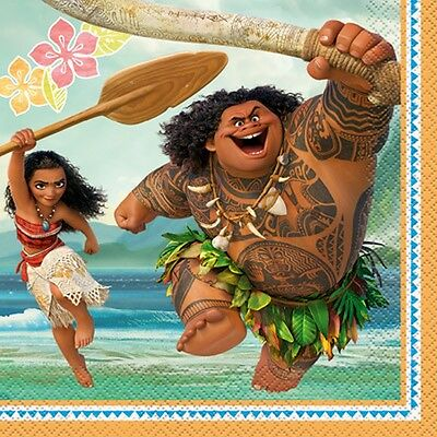 Disney Moana Luncheon Napkins [16 per Pack]