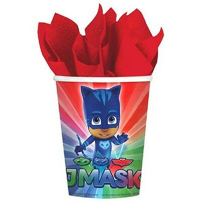 PJ Masks 9oz Party Cups [8 per Pack]