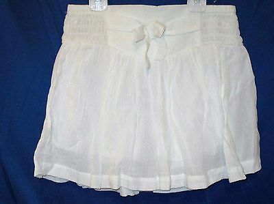 ROXY Girl Skort Size Youth Small White