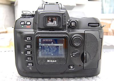 Nikon D100 Body mint condition, collectors item, looks unused.