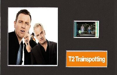 Trainspotting 2 T2 replica 35mm Mounted Film Cell Display 6 x 4