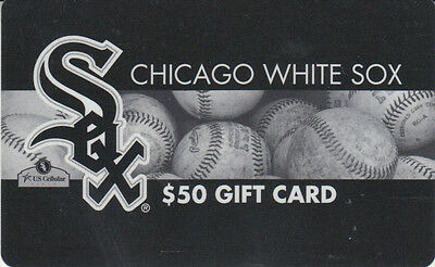 Gift Card U.S.A. Chicago White Sox