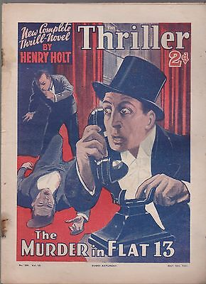 The Thriller No.328 Vol.12 Henry Holt novel