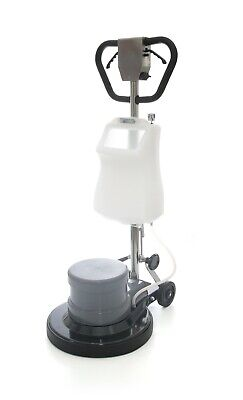 Industrial Floor Polisher Machine with(1 Tank+2 Brushes+1 Pad Holder)