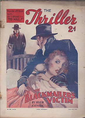 The Thriller No.338 Vol.13 Hugh Clevely novel