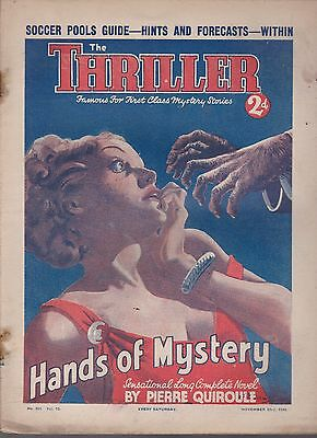 The Thriller No.355 Vol.13 Pierre Quirole novel