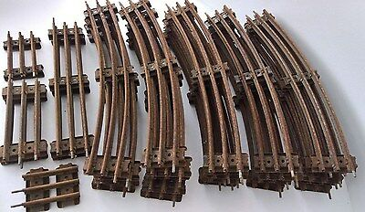 O Gauge - HORNBY - 3 Three Rail Track for Electric Trains - Curves & Straights