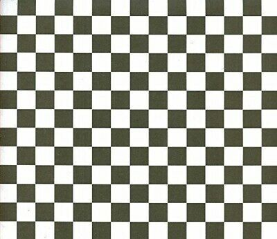 12x12 Paper - Black/white Checkered 6 Sheets