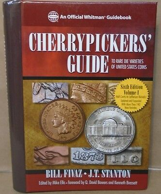 Cherrypickers Coin Guide To Rare Die Varieties 6th Vol.1 Half Cents to Nickels