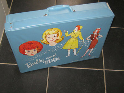 Vintage Barbie 1964 Dolls Wardrobe Carry Case