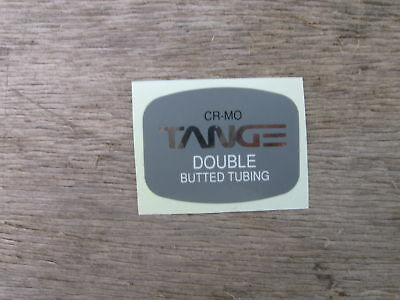 Tange Cro Mo Vintage Frame Tubing Bike Bicycle Decal Sticker Not Remade!!!