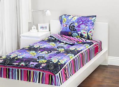 Zipit Bedding Set, Fantasy Forest - Twin, Multiple Colors and Patterns, Stylish