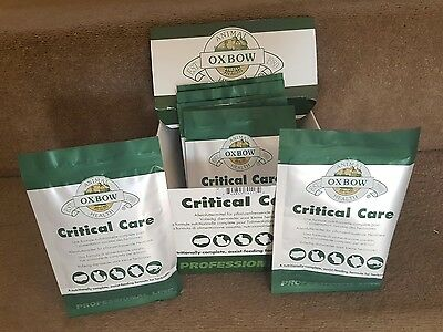 Oxbow Critical Care 2 x 36g Sachet for all herbivores