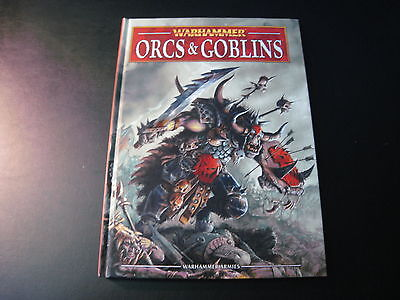 Orcs & Goblins Warhammer Codex 8th Edition Hardback Unused